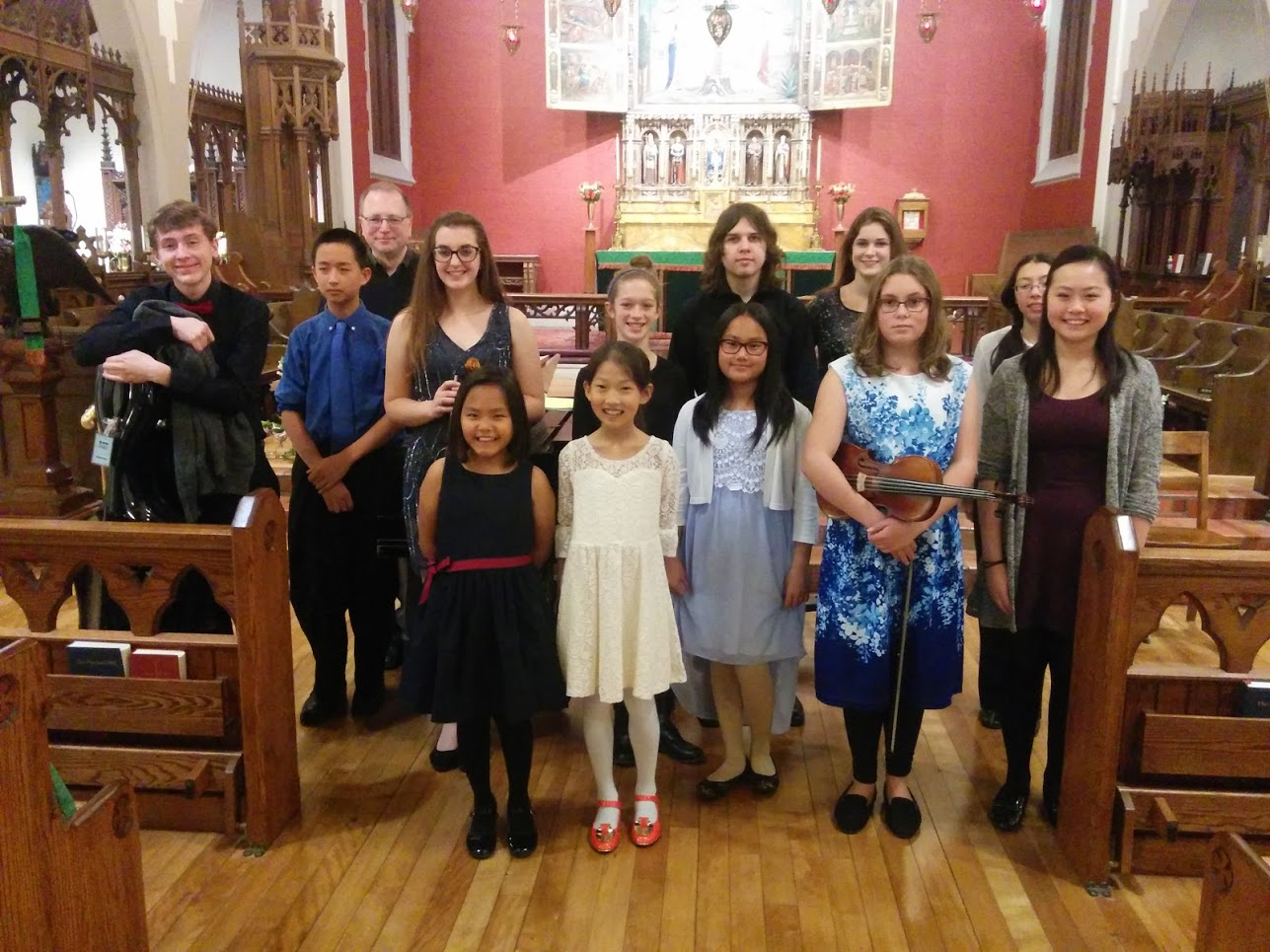 Fall Honors Recital at Cathedral Church of All Saints