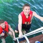 cellisti-snorkeling