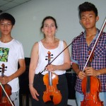 D.Drexler with students from Masterclass