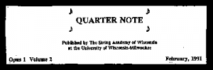 The-Quarter-Note-1991-Title