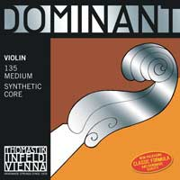 """Dominant"" label strings are an excellent choice for the violin."