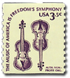 Violin Stamp - from the mailbag