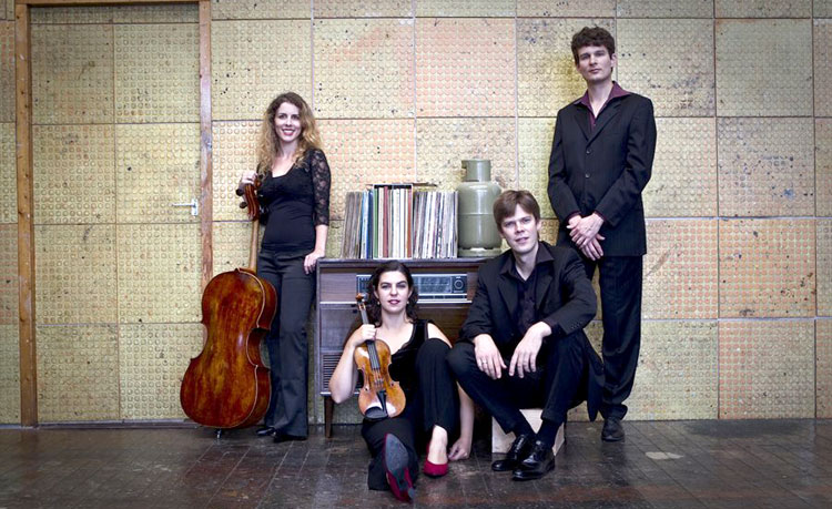 The Rubens Quartet visits the String Academy of Wisconsin