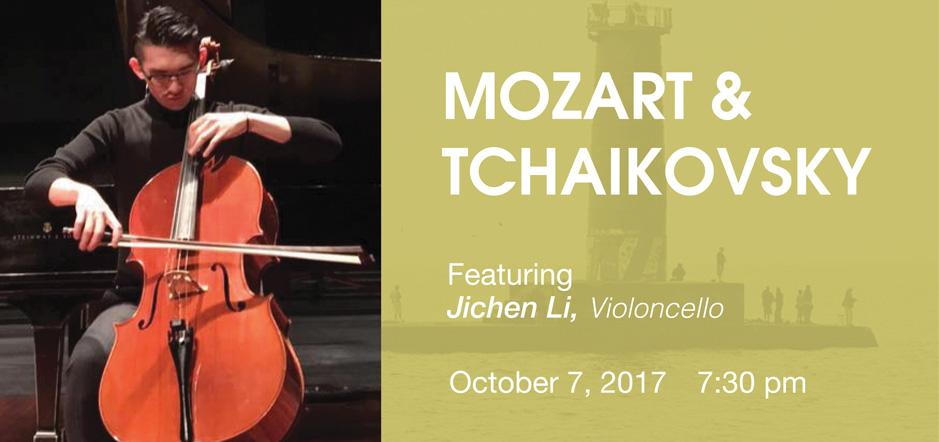 Jichen Li with Sheboygan Symphony